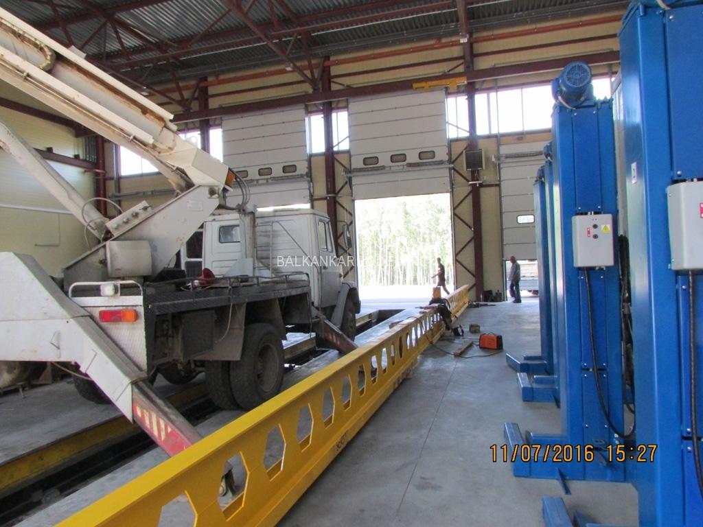 Монтаж подвесной кранбалки г/п-5,0 тонн.